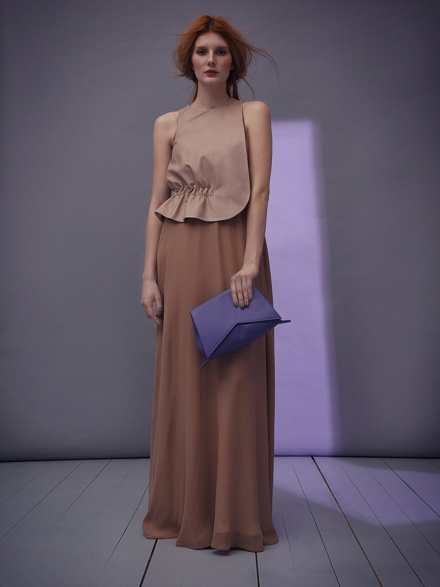 alia asymmetrical evening dress